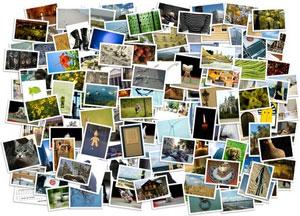Tirage de photos numériques sur papier
